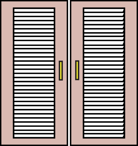 Wood Windows Clipart.