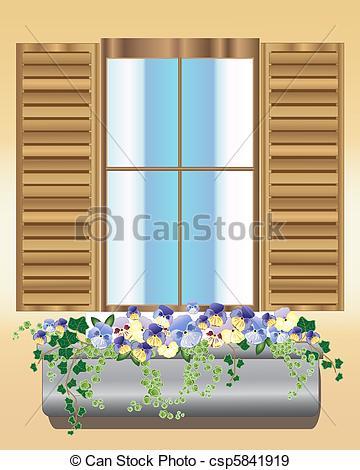 Window shutter Vector Clipart Illustrations. 549 Window shutter.
