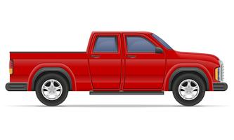 Pickup Truck Free Vector Art.