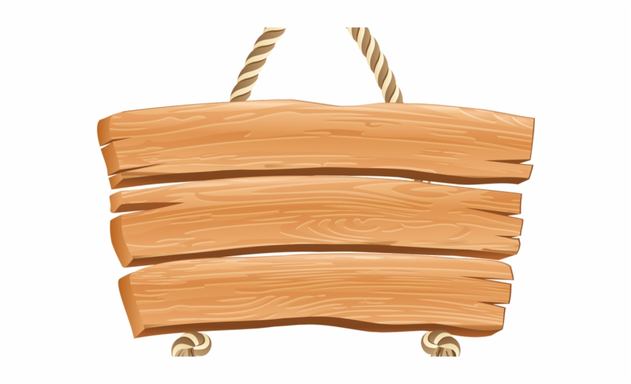 Signboard Clipart Wood Plank.