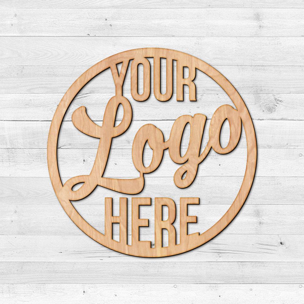 Custom Logo Metal or Wood Sign.