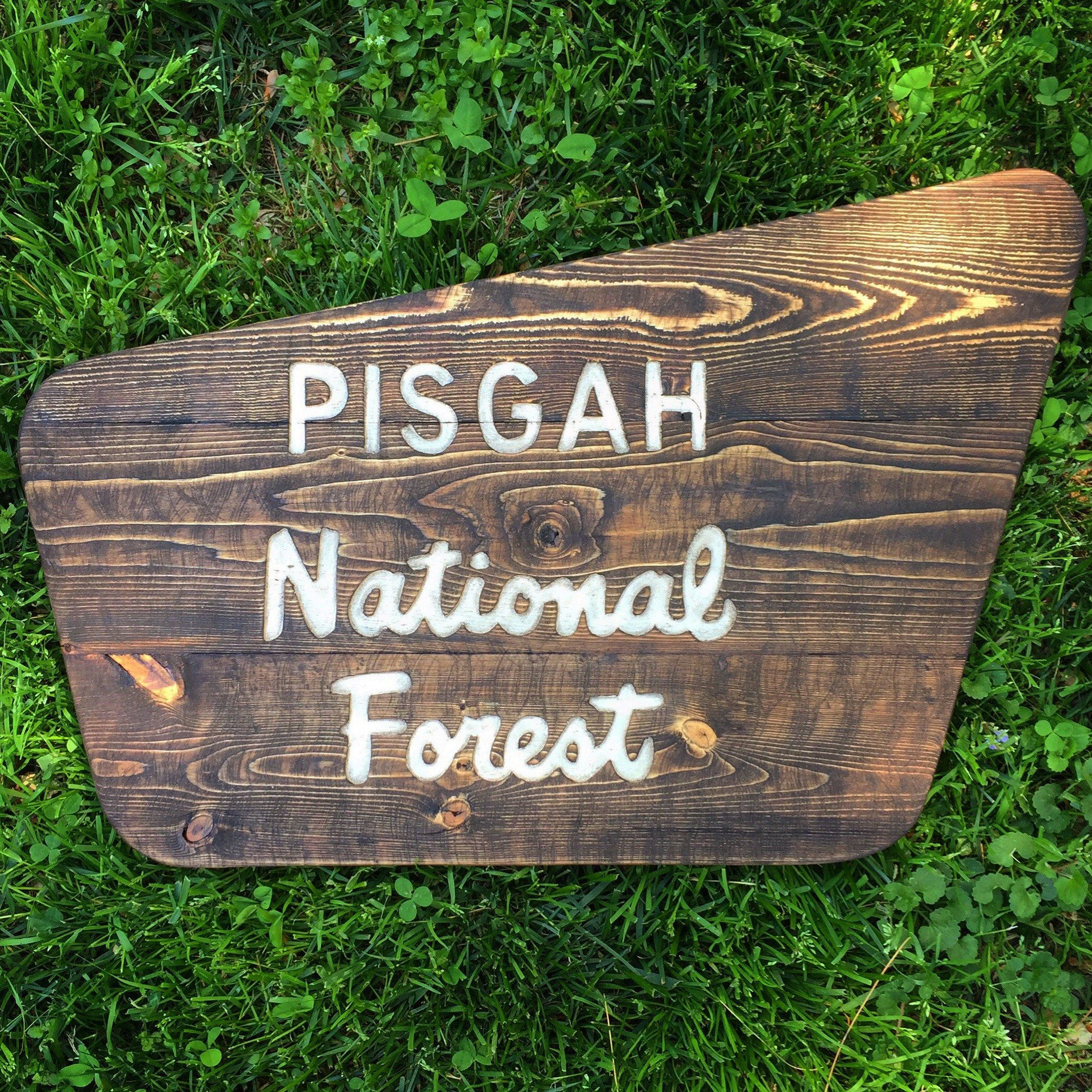 Custom National Forest Sign, Custom National Park Sign.