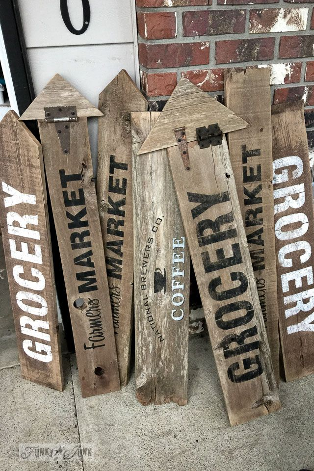 Make your own Old Signs!.