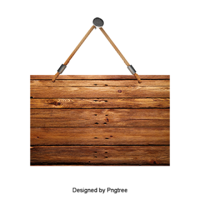 Wooden Sign PNG Images.