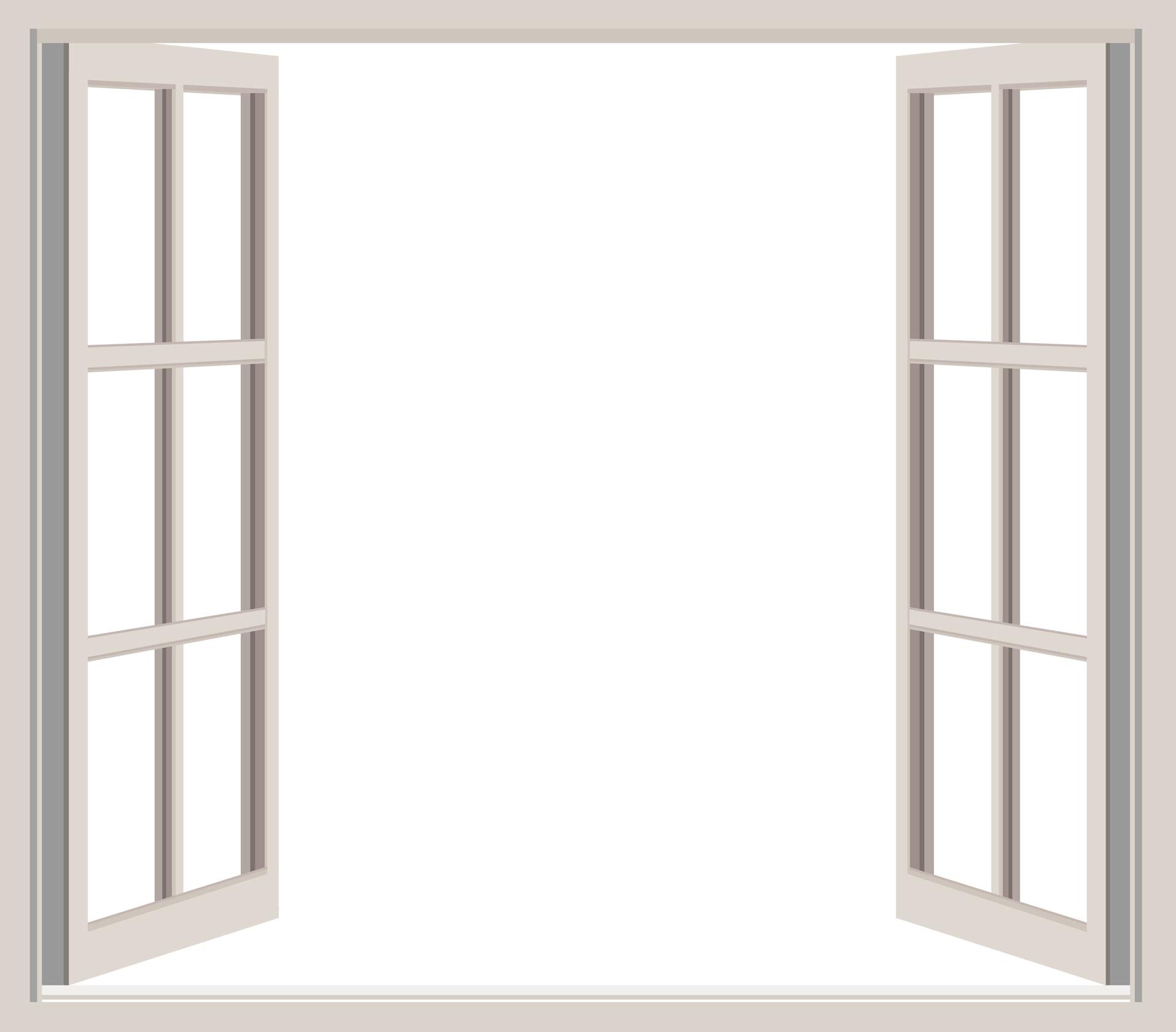 window sill clipart - Window Frames