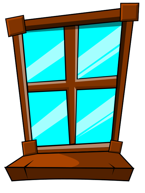 Window sill clipart