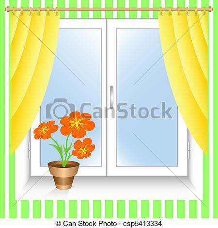 Window sill Clipart and Stock Illustrations. 614 Window sill.