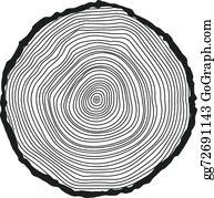 Wood slice clipart black white Transparent pictures on F.