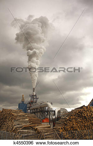 Stock Images of Wood smoke k4550396.