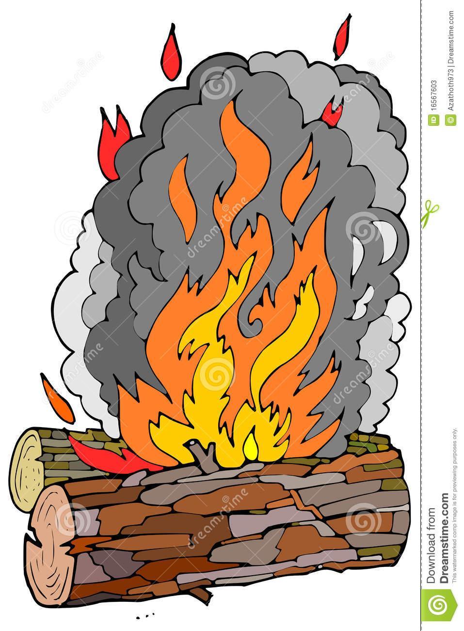 Fire Smoke Clipart (35+).