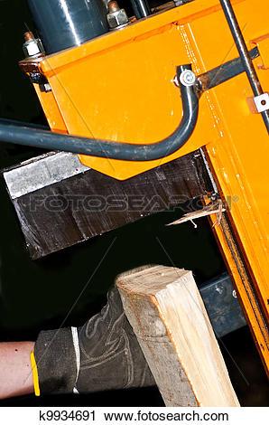 Stock Photography of wood splitter k9934691.