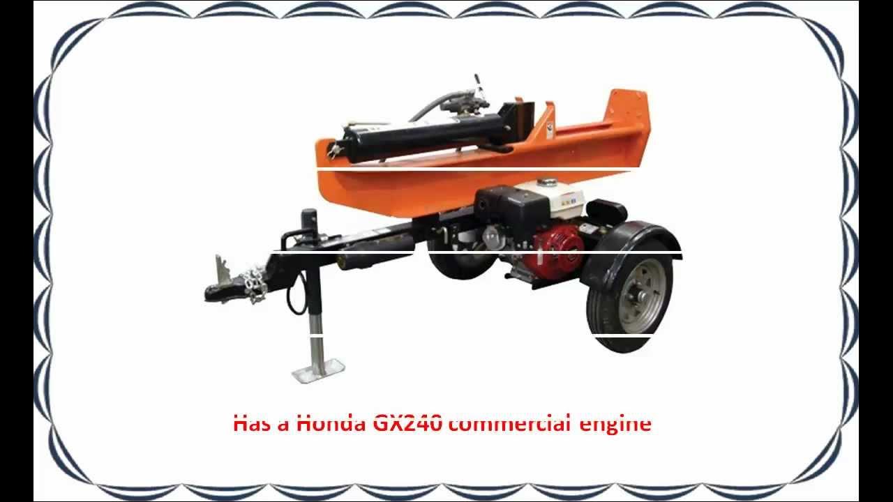 SpeeCo Log Splitter GX240 Honda 28 Ton.