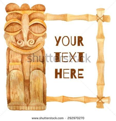 Wood Statue Stock Vectors & Vector Clip Art.