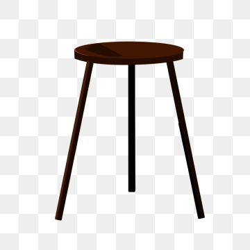 Wooden Stool PNG Images.