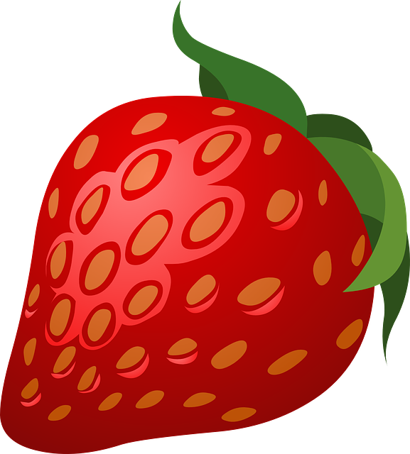 Free vector graphic: Strawberry, Pink, Fruits, Red.