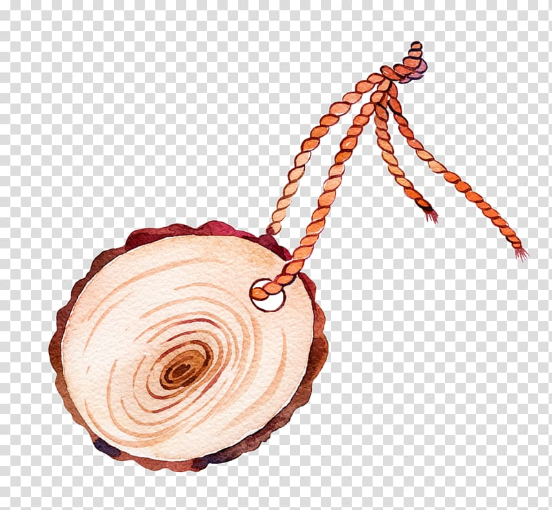 Wood Icon, Wooden tag transparent background PNG clipart.