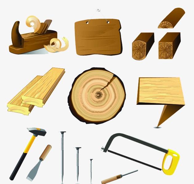 Wood Tools, Wood Clipart, Tools Clipart, #163302.