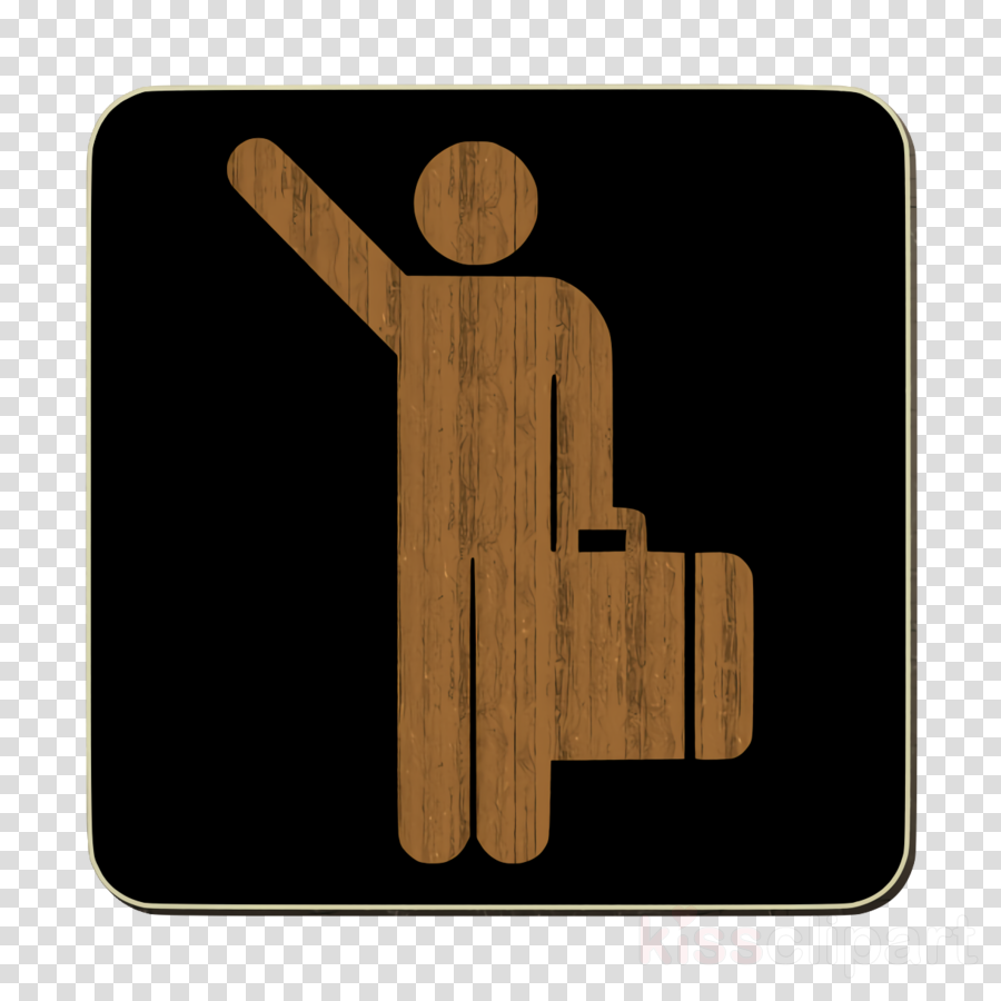 arrivals icon travel icon clipart.
