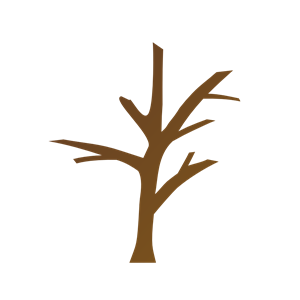 tree with no leaves clipart #2