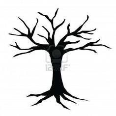 Use this bare tree to print and color according to what you are.