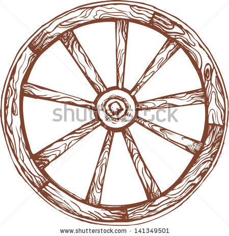 Old Wheel Stock Photos, Royalty.