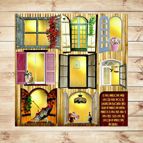 OK, this Window clipart and the outside looking in one is a.