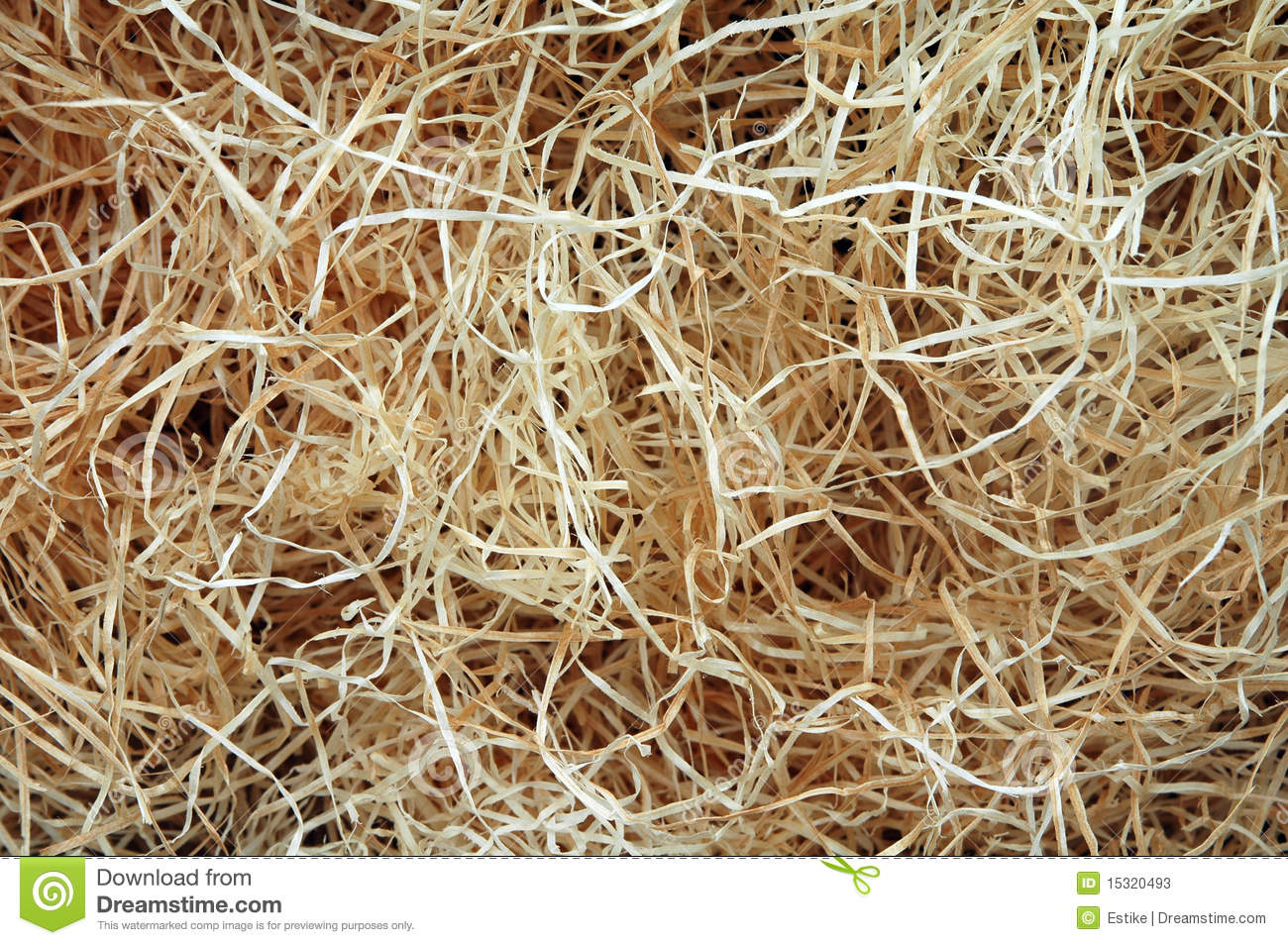 Wood Wool Stock Photos.