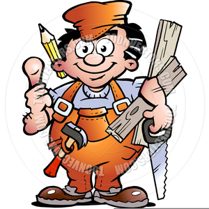 Clipart Woodworker.