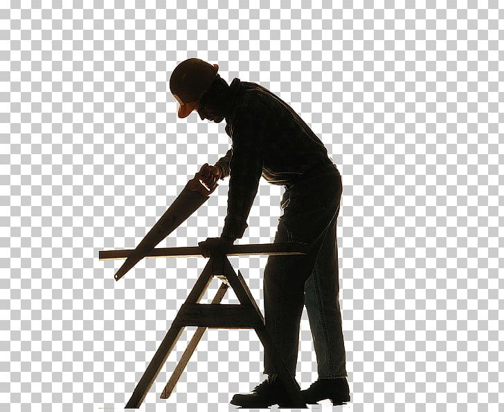 Silhouette Carpenter Wood Artisan PNG, Clipart, Angle.