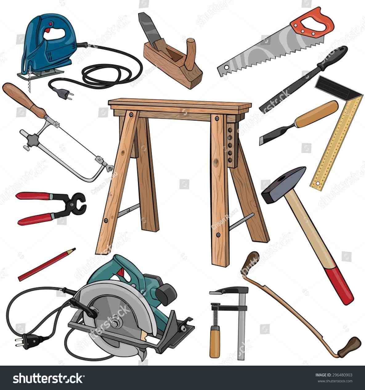 Woodworking tools clipart 7 » Clipart Station.