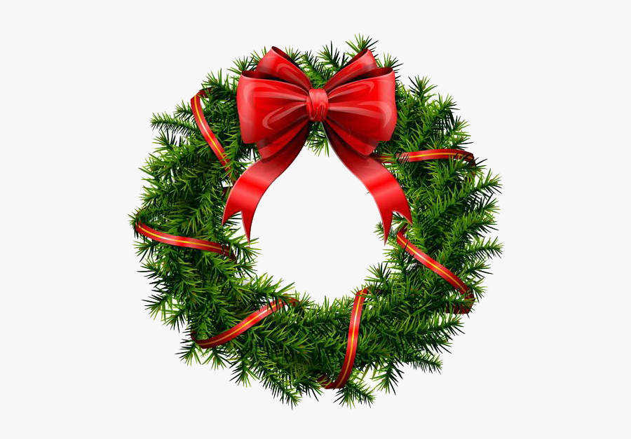 Holiday Wreath Png File.