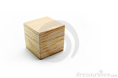 Group Of Wood Block Models Royalty Free Stock Images.
