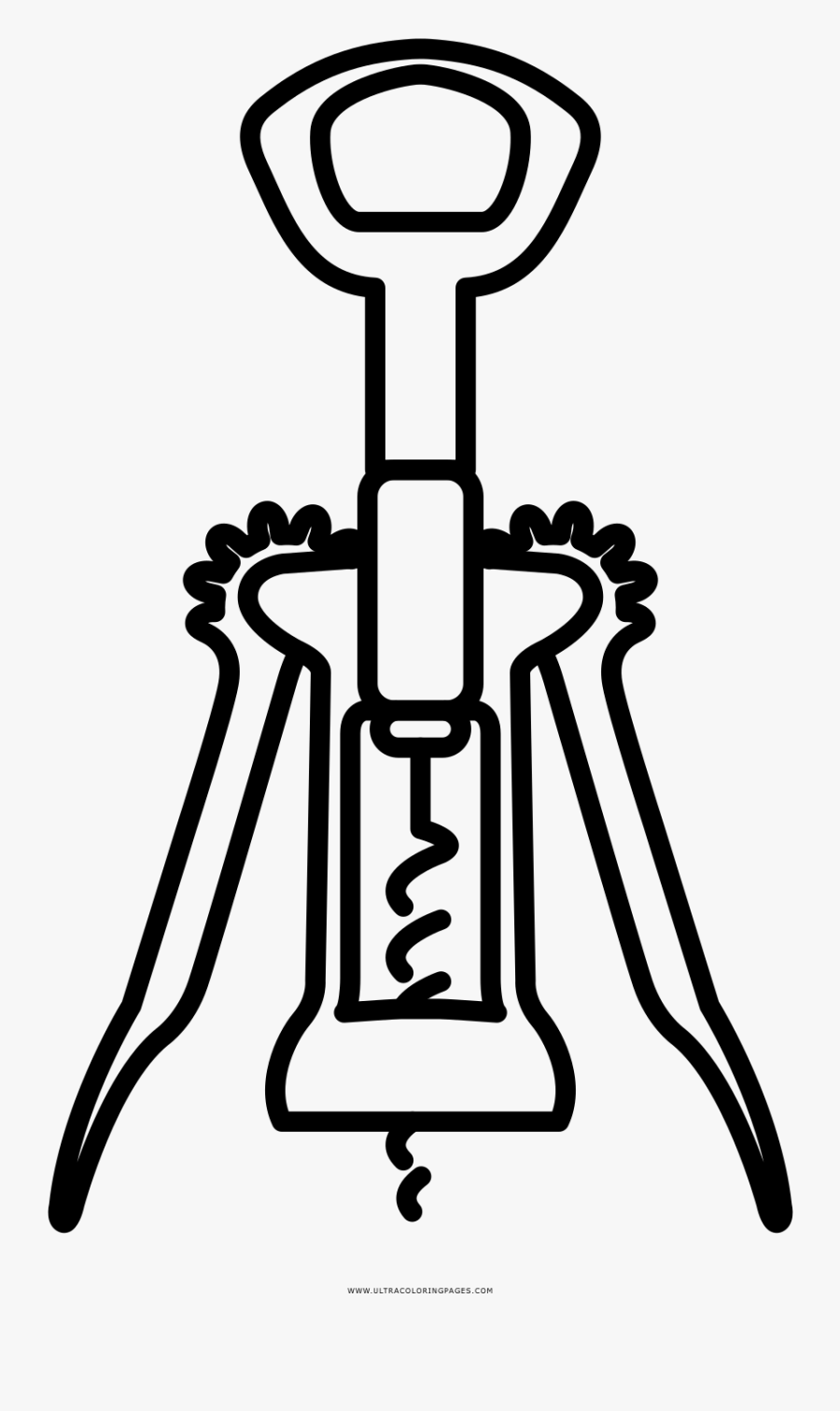Bottle Opener Coloring Page.