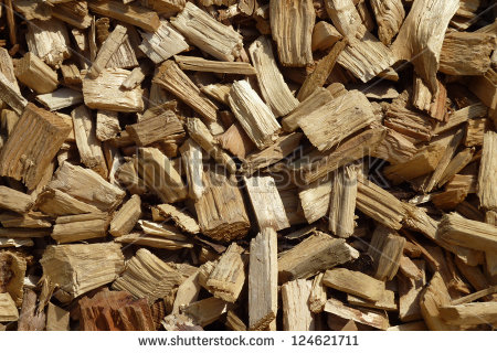 Covering woodchip clipart.
