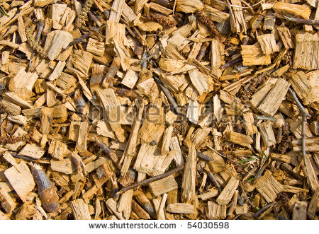 Woodchip clipart covering.