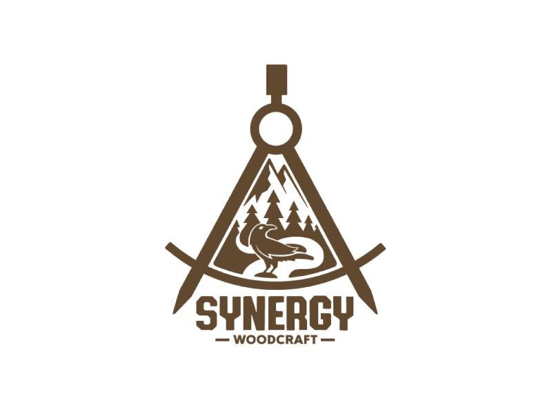 Woodcraft brand logo by Yavor Lazarov on Dribbble.