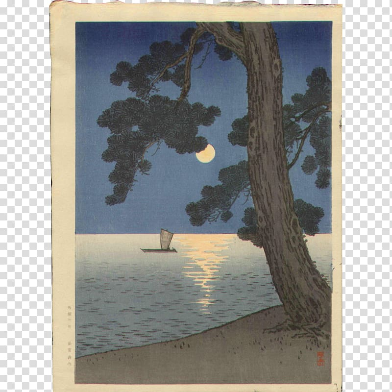 Woodblock printing Painting Art Japan Woodcut, painting.