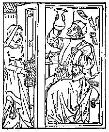 Medieval Woodcuts Clipart Collection.
