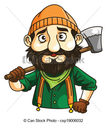 Woodcutter Stock Illustrations. 583 Woodcutter clip art images and.