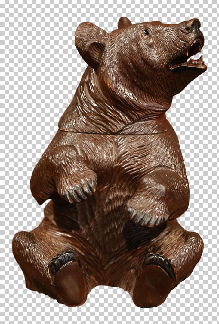 Wood Carving Sculpture Bear Art PNG, Clipart, Animals, Art.