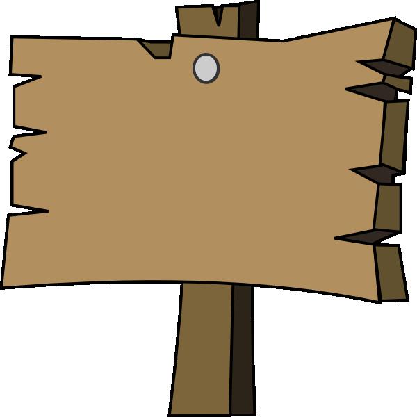 Clip Art Wooden Board Clipart.