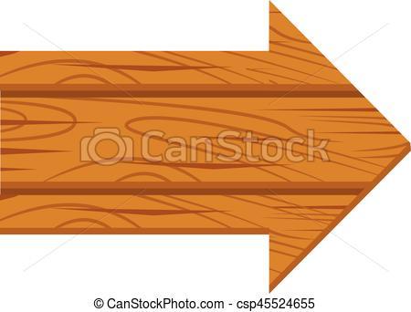 Wooden arrow grunge. Wooden sign arrow.