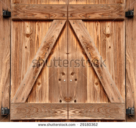 Barn Door Stock Photos, Royalty.
