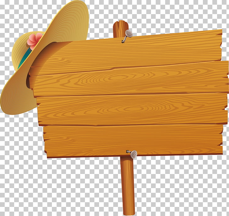 Wood Beach , Cap element, brown signage board PNG clipart.