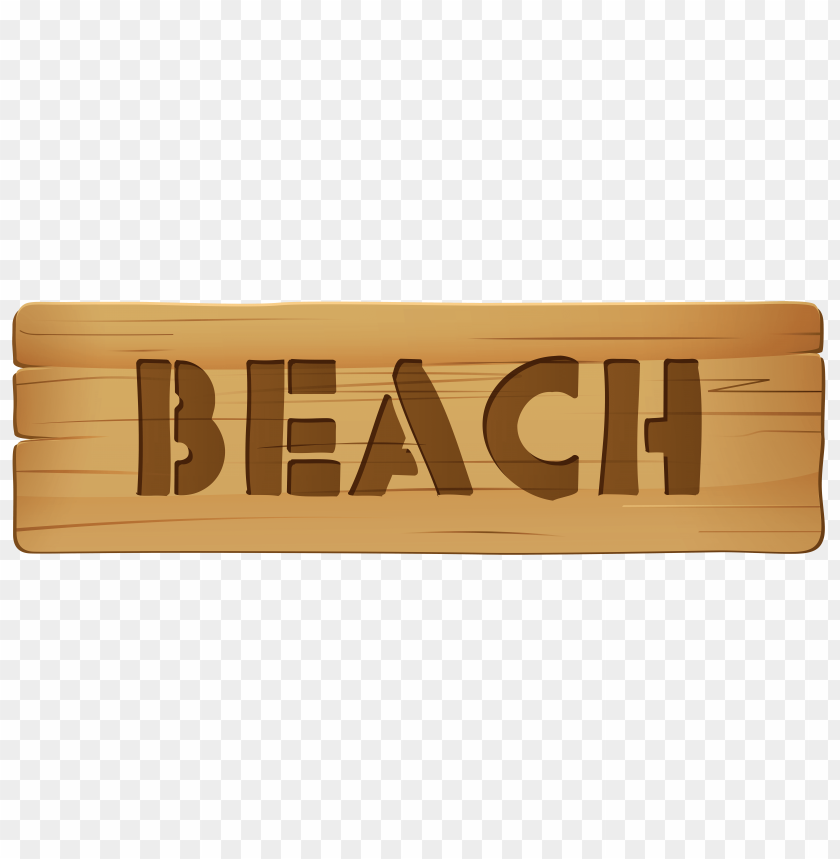 Download wooden sign beach clipart png photo.
