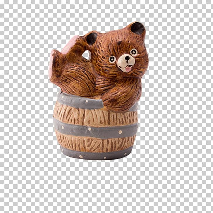 Beer Bear Barrel Wood, Wooden Bear Pen PNG clipart.