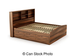 Wooden bed Stock Illustrations. 6,330 Wooden bed clip art images.