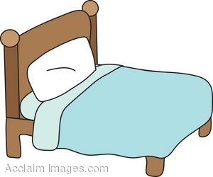 Simple Bed Clip Art.