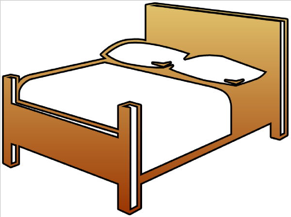 Cartoon Bed.