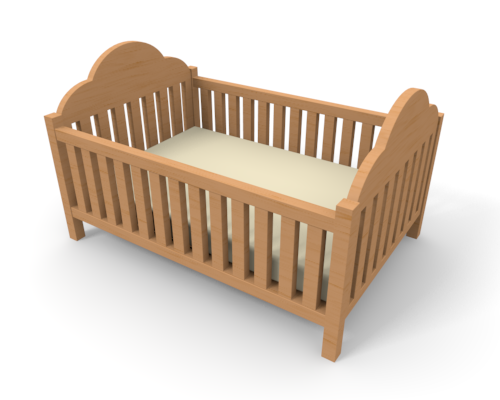 Baby bed.